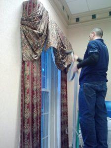 curtain drape tapestry
